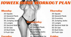 10 Week No-Gym Home Workout Plan Losing weight can seem daunting when you've struggled with maintaining your weight for a long time. Part of the struggle is making time to get to the gym and workout regularly. But