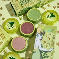Sprinkle A Little Magic On Your Daily Makeup With This Tinker Bell Colourpop Collection! - beauty - Disney Inspired Makeup, Daily Makeup, Makeup Inspiration, Tinkerbell, Eyeshadow, Makeup Routine, Fairies, Beauty, Magic