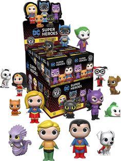 Funko - Mystery Minis Blind Box: DC Heroes & Pets Vinyl Figures - Multi