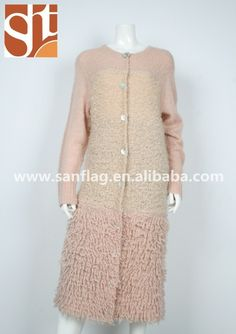 ba3abd201 Women heavy knit sweater long knitted sweater cardigan turkey knee length  cardigan with big shell button import from china