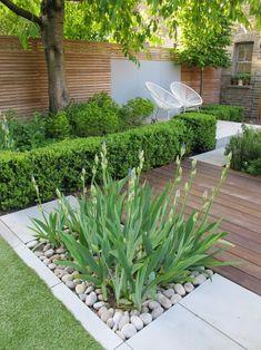 Back Garden Design, Backyard Garden Design, Small Backyard Landscaping, Modern Landscaping, Balcony Garden, Backyard Ideas, Garden Beds, Landscaping Ideas, Backyard Pools