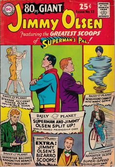 Eighty Page Giant  Jimmy Olsen August 1965 Issue  by ViewObscura