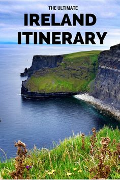 The Ultimate Ireland Road Trip Itinerary. Click the pin to read the post from www.flirtingwiththeglobe.com
