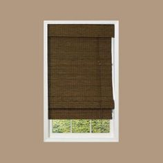 designview Maple Providence Bamboo Roman Shade (Price Varies by Size) - Model # 0213795 at The Home Depot