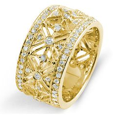 0.75Ct Round Cut Diamond Eternity VS2 G Anniversary Band Ring 14k Gold Yellow