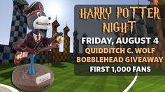 Baseball-Minors 24441: 2017 Erie Seawolves C. Wolf Mascot - Harry Potter Night Quidditch Bobblehead Sga -> BUY IT NOW ONLY: $32 on eBay!