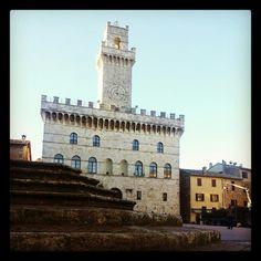 Montepulciano Siena Toscana Palazzo Comunale Piazza Grande