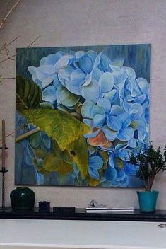 Flowers Painting Design Inspiration 44 Ideas For 2019 Large Canvas Art, Canvas Wall Art, Botanical Art, Art Oil, Painting Inspiration, Design Inspiration, Flower Art, Painting & Drawing, Watercolor Paintings