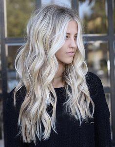 great Balayage hair for blond hair – Hair Ideas Hair Color And Cut, Hair Color 2018, Dream Hair, Hair Dos, Gorgeous Hair, Pretty Hairstyles, Hair Beauty, Blonde Long Hair, Long Blonde Hairstyles