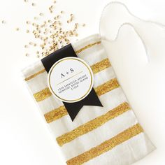 Have a little DIY wedding fun and use custom gift tags for welcome bags or favors.