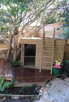 We create beautiful garden living spaces, for a concept fee never greater than Outdoor Fun, Outdoor Ideas, Tree Houses, Storage Ideas, Garden Design, Shed, Outdoors, Outdoor Structures, Adventure