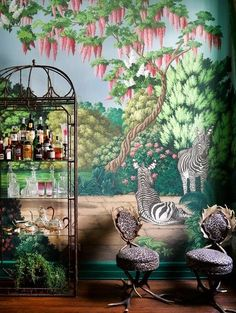 2017 Kips Bay Decorator Show House Dining Room by Ken Fulk