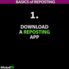 HOW TO REPOST on INSTAGRAM #HowtoREPOSTfurballTV  This is a fast 15 second overview on how Instagram #REPOSTING apps generally work. There are many different #reposting apps with many different styles but most of them go through the same process. Here are the basics. NOTE: Make sure you get an app that can #repost the 'caption text' along with the video  o Get a REPOSTING app o Find a video to Repost o Copy the 'Caption' Text o Download the Video to Phone o Launch Instagram & Post o Video…