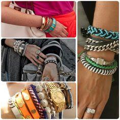 Like the variety of bracelets