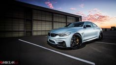 Moonstone Metallic BMW M4 Shows Its M Performance Parts - Photo Gallery