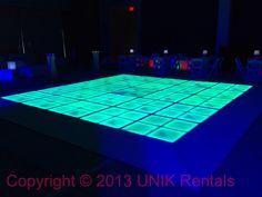 LED dance floor / Illuminated dance floor