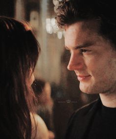 Fifty Shades Of Grey, the way he looks at her