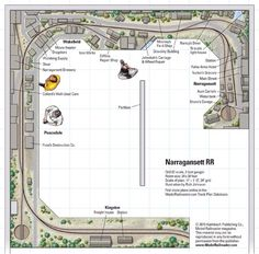 Narragansett RR - from Track Plan Database | ModelRailroader.com