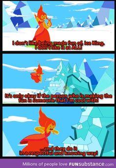 Flame Princess Knows