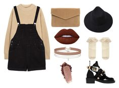 """""""milch"""" by lizatower on Polyvore featuring мода, The Row, Monki, Balenciaga, Monsoon, Miss Selfridge и Lime Crime"""