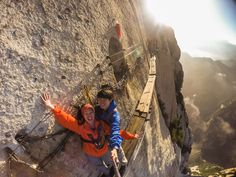 Trekking the world's most dangerous mountain - Mt Hua in China
