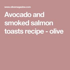 Try our smoked salmon toast recipe with avocado. This easy salmon and avocado recipe is an easy smoked salmon toast recipe. Make this salmon avocado recipe Salmon Avocado, Smoked Salmon, Avocado Toast, Avocado Recipes, Fish Recipes, Healthy Recipes, New Recipes For Dinner, Brunch Recipes