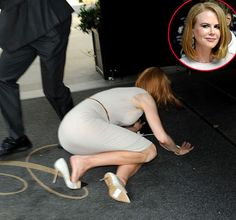 So sad for her! How terrible! Nicole Kidman Paparazzo Bike Crash Pictures: Star Falls Post-Collision - Us Weekly