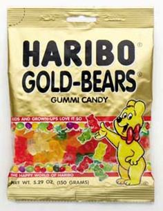 my favorite candy! Haribo has the best gummy bears ever!