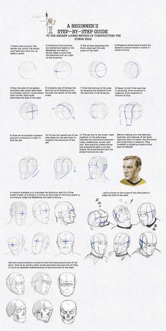 Loomis Method: A Beginner's guide WIP by SeaQuenchal