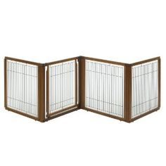 Richell 3-in-1 Convertible Elite Pet Gate, 4-Panel $119.95