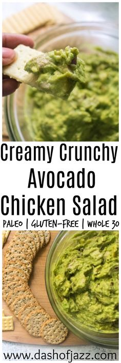 Creamy crunchy avoca