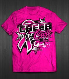 Design #43 by nickbanng | Tshirt Design - 'Cheer For A Cure' 2016