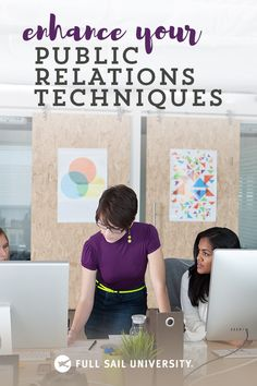 Whether you're already working in PR or looking to enter the industry, a public relations master's degree from Full Sail University can teach you how to combine traditional practices such as copywriting, with emerging trends like content marketing and soc Business Marketing, Content Marketing, Affiliate Marketing, Business Tips, Social Media Marketing, Online Business, Internet Marketing, Business Branding, Public Relations