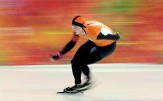You speed up, time slows down. Flying Dutchman. #Sochi2014