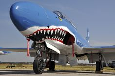nose art, might not be WWII, but it's an awesome plane.