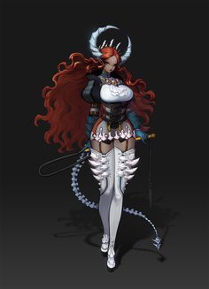 Character Concept Art - Succubus by Byam on DeviantArt Girls Characters, Fantasy Characters, Female Characters, Female Character Design, Character Concept, Character Art, Dark Fantasy Art, Fantasy Girl, Monster Girl Encyclopedia