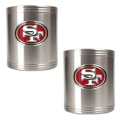 San Francisco 49ers Stainless Steel Can Drink Holders