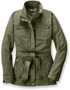 3rd get outside- The REI La Porte Jacket protects you from wind, rain and fashion police.