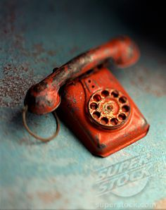 "Old phone toy- I had one like this!  I kept answering, ""Hello, hello, hello..."" but the caller never spoke.  Damn phone had no plug!"