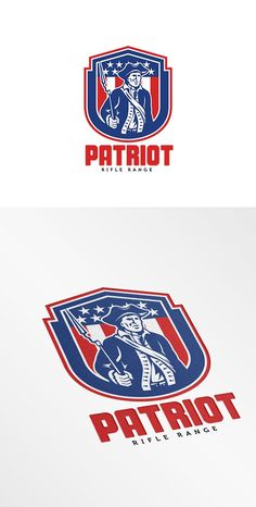 American Patriot Rifle Range Logo by patrimonio on @creativemarket