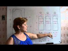Neste vídeo mostro alguns truques importantes para fazer um molde para manequins grandes.