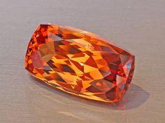 28.10ct Simply the Finest Ouro Preto, Brazil Imperial Topaz Imaginable!    This one is selling at $38,000.