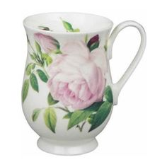 Roy Kirkham Redoute Roses Eleanor Mug - for sale Pretty Mugs, Mugs For Sale, Versailles, Pink Roses, Dinnerware, Home And Garden, Tea, House Styles, Tableware