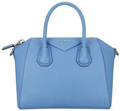 Small Embossed Antigona Bag - Lyst Givenchy Handbags, Blue Handbags, Blue  Purse, Blue 12751ea333