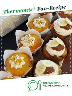 Thermomix Recipes Healthy, Thermomix Desserts, Thermomix Banana Muffins, Whole Orange Cake, Orange Muffins, Icing Ingredients, Cafe Style, Baking Cups
