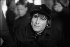 John photographed in Obertauern, Switzerland, March 1965.