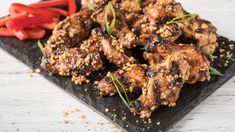 Grilled SuyaSpiced Wings