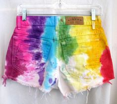 Tie Dye shorts perfect for the summer!