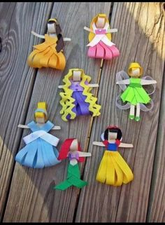 Ribbon Dolls. :)