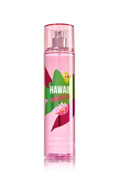 Hawaii Passionfruit Kiss Fine Fragrance Mist - Signature Collection - Bath & Body Works - Bath And Body Bath Body Works, Bath N Body, Bath And Body Works Perfume, Perfume Body Spray, Victoria Secret Fragrances, Bath And Bodyworks, Fragrance Mist, Body Mist, Body Lotions